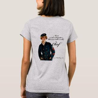 Chef féminin t-shirt