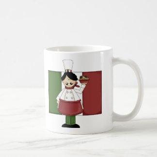Chef italien - personnalisable mug
