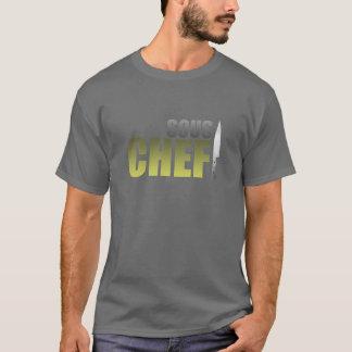 Chef jaune de Sous T-shirt