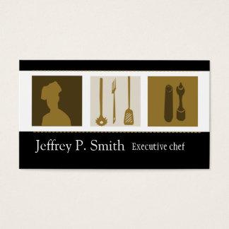 Cartes de visite cuisinier for Cuisinier sel