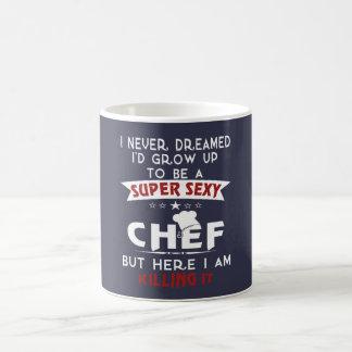 Chef sexy superbe mug