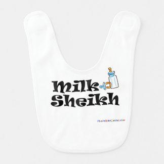Cheik Bib de lait Bavoir
