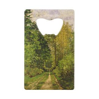 Chemin boisé de Claude Monet |