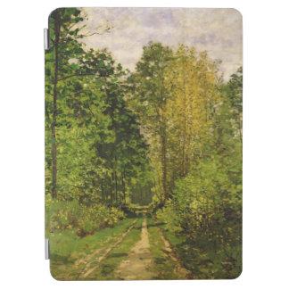 Chemin boisé de Claude Monet   Protection iPad Air