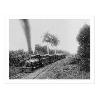 Chemin de fer central américain de casserole au carte postale
