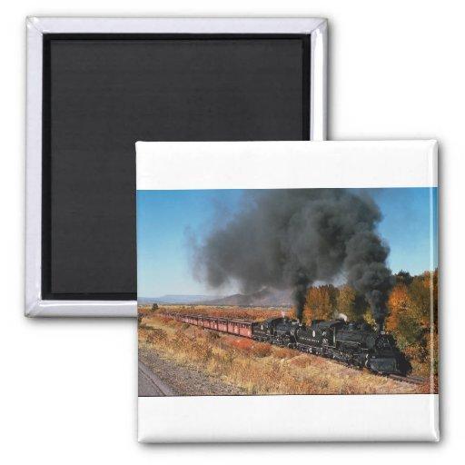 Chemin de fer de Cumbres et de Toltec, no. 487 et  Magnets Pour Réfrigérateur