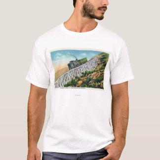 Chemin de fer de dent de Mt Washington, l'échelle T-shirt