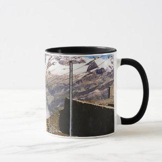 Chemin de fer de montagne, région de Jungfrau Mug