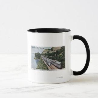 Chemin de fer de Zephers de jumeau de dôme de vue Mug