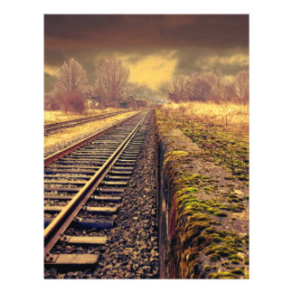 Chemin de fer prospectus personnalisés