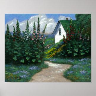 Chemin de jardin posters
