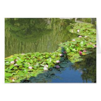Chemin de Lotus Cartes De Vœux
