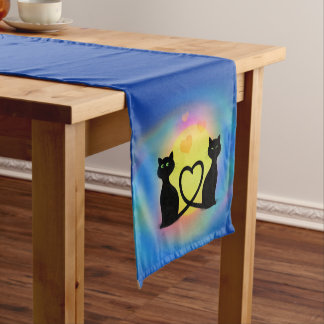 Chemin De Table Court Chats dans l'amour