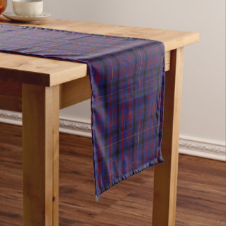 Chemin De Table Court Coureur de Tableau de plaid de tartan de Dundonald