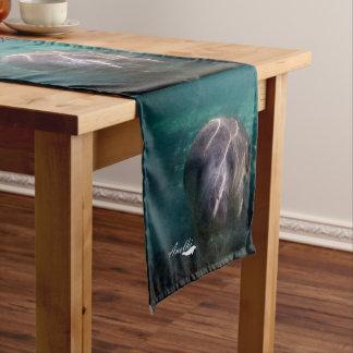 Chemin De Table Court Coureur mignon de table de lamantin de bébé