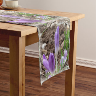 Chemin De Table Court Crocus de ressort