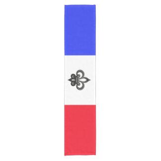 Chemin De Table Court Drapeau français