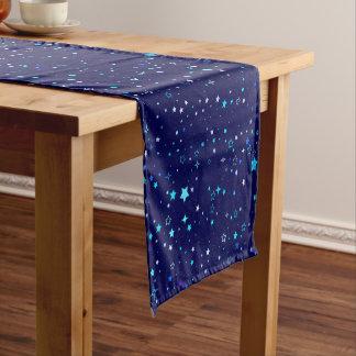 Chemin De Table Court Étoiles bleues 2