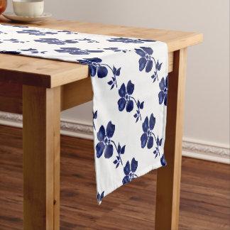 Chemin De Table Court Fleur bleue