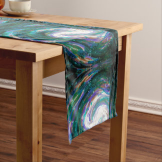 Chemin De Table Court Galaxie peinte à la main