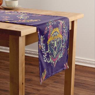 Chemin De Table Court Loup tribal coloré Dreamcatcher