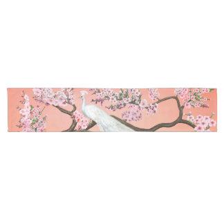 Chemin De Table Court Paon de fleurs de cerisier