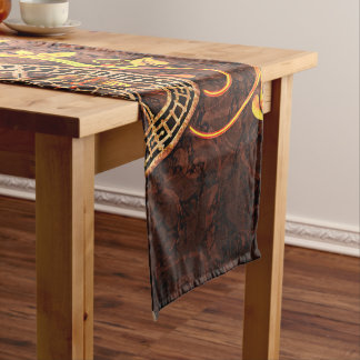 Chemin De Table Court Papier peint vintage de Steampunk