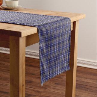 Chemin De Table Court Tartan écossais bleu d'Alexandre de clan