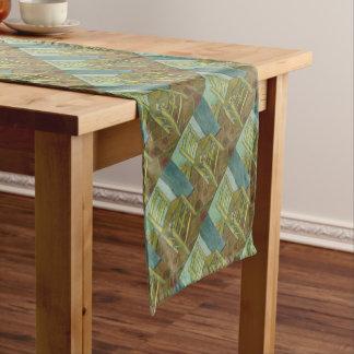 Chemin De Table Court Vincent van Gogh - la chaise de Van Gogh avec le