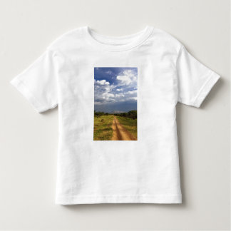 Chemin de terre primitif à travers le du nord t-shirt pour les tous petits