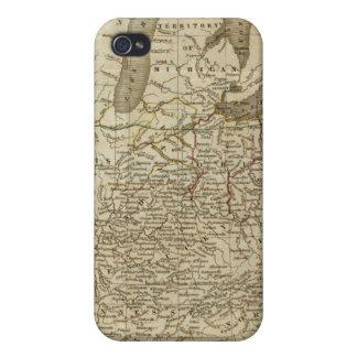 Chemins de fer et canaux aux Etats-Unis Coque iPhone 4 Et 4S