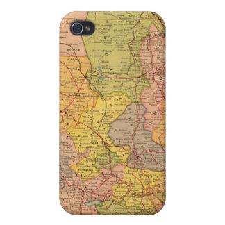 Chemins de fer mexicains coque iPhone 4/4S