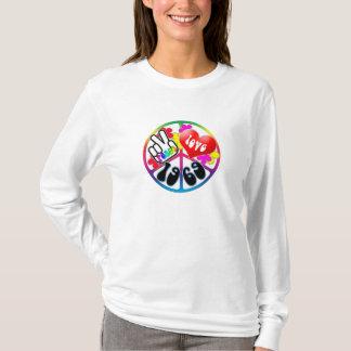 Chemise 1969 d'amour de paix t-shirt