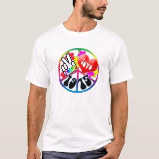 Chemise 1975 d'amour de paix t-shirt
