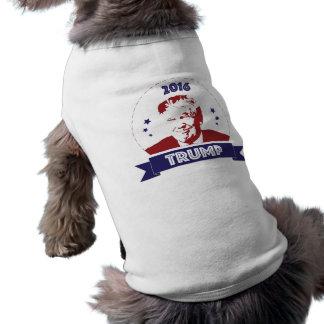 Chemise 2016 de chien d'élection de Donald Trump T-shirt Pour Chien