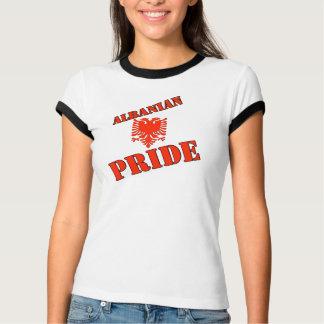 Chemise albanaise de fierté pour la femme t-shirt