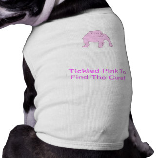 Chemise anglaise de chienchien de bouledogue t-shirt pour chien