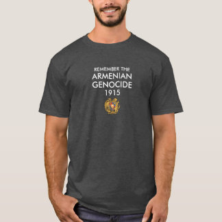 Chemise arménienne de génocide t-shirt