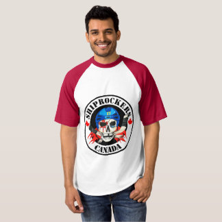 Chemise blanche et rouge t-shirt