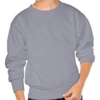 Chemise bleue du football sweatshirt