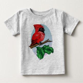 Chemise cardinale 2 de bébé mignon t-shirt pour bébé