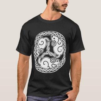 Chemise celtique foncée de souris t-shirt