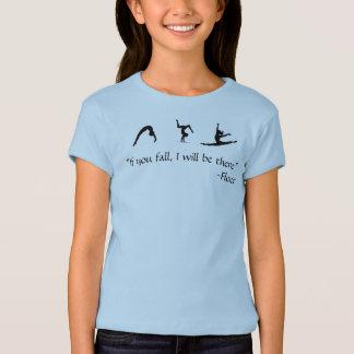 Chemise Cheerleading croulante de fille de danse T-shirt