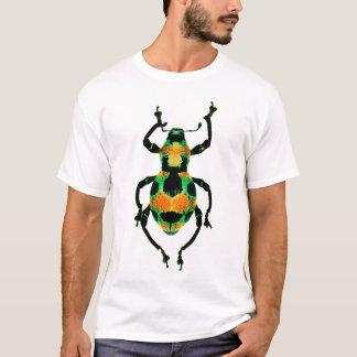 Chemise colorée de scarabée t-shirt