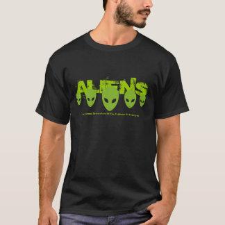 Chemise d'aliens t-shirt