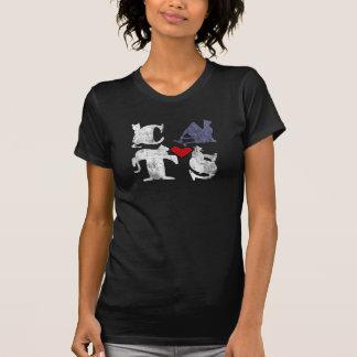 """Chemise """"d'amour de chat"""" t-shirt"""
