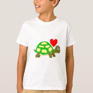 Chemise d'amour de tortue t-shirt