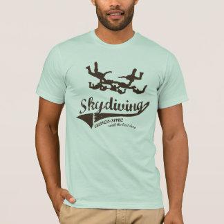 Chemise d'amusement de parachutisme t-shirt