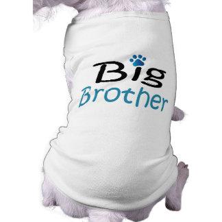 Chemise d'animal familier de frère t-shirt pour chien