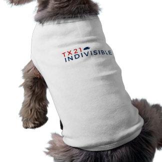 Chemise d'animal familier t-shirt pour chien